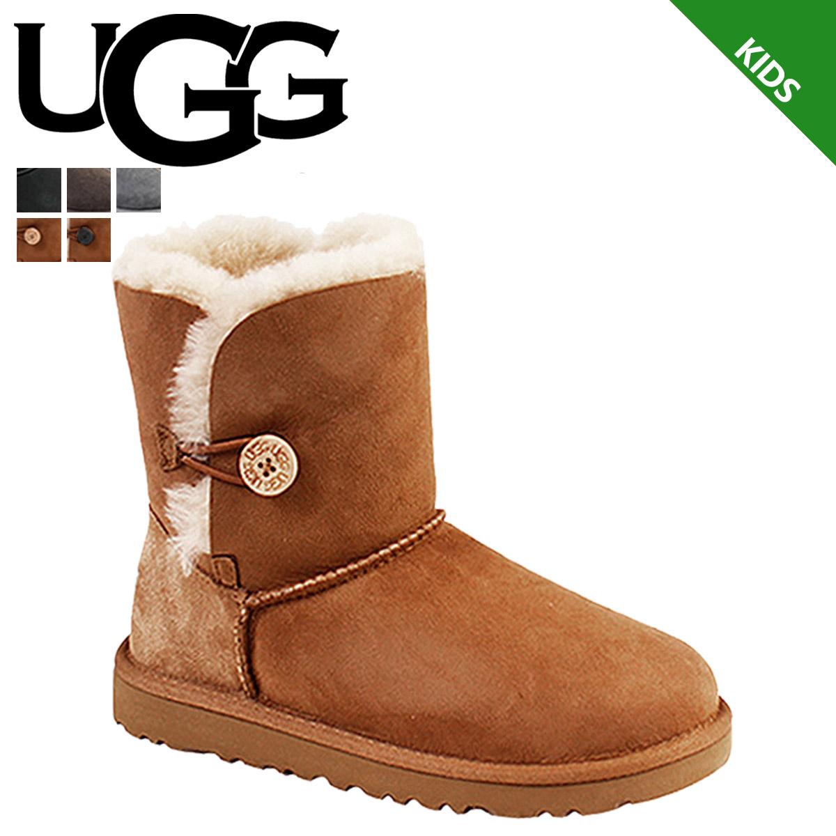 840d1d88c3e アグ UGG kids Bailey button mouton boots KIDS BAILEY BUTTON 5991 5991K 5991KK  sheepskin