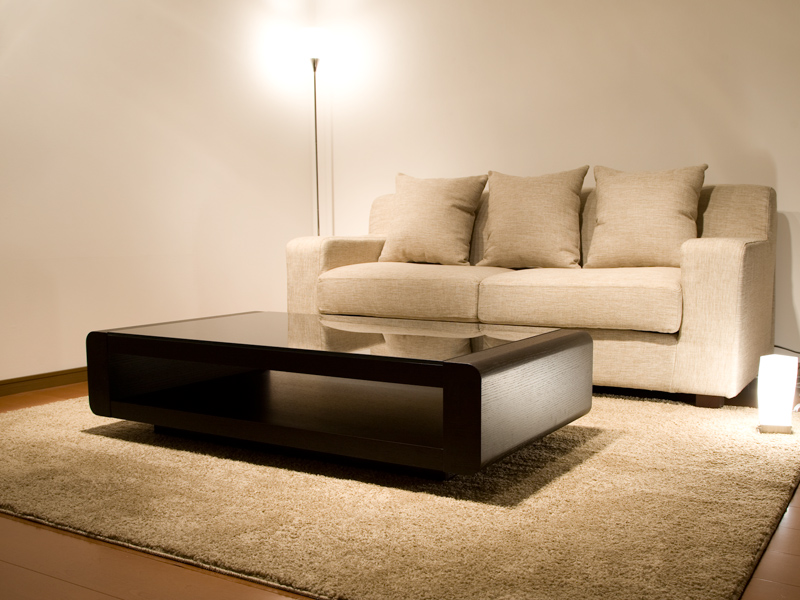 【*送料無料】ブラックガラストップリビングテーブル/Loob テーブル リビングテーブル スクエアタイプ デザインテーブル ローテーブル センターテーブル 高級 デザイナーズ ガラステーブル