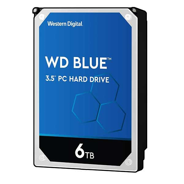 【送料無料】Western Digital WD BLUE HDD 6TB WD60EZAZ ウエスタンデジタル ハードドライブ