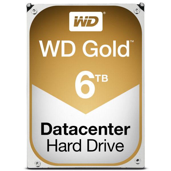 【送料無料】Western Digital WD GOLD HDD 6TB WD6002FRYZ ウエスタンデジタル ハードドライブ