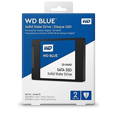 【送料無料】Western Digital WD BLUE SSD 2TB WDS200T2B0Aウエスタンデジタル