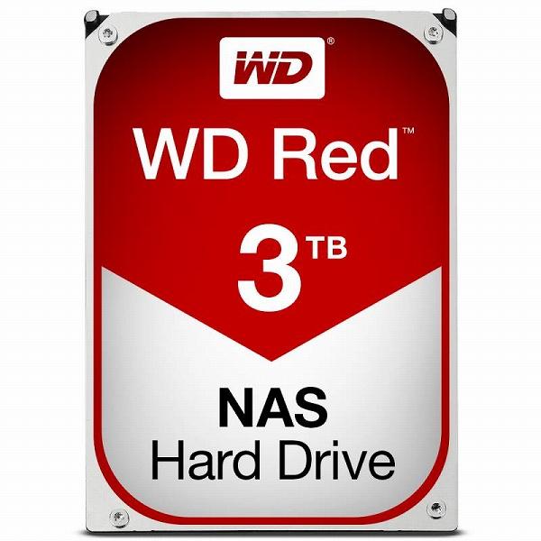 【送料無料】Western Digital WD RED HDD 3TB WD30EFRX ウエスタンデジタル ハードドライブ