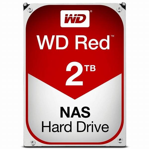 【送料無料】Western Digital WD RED HDD 2TB WD20EFRX ウエスタンデジタル ハードドライブ