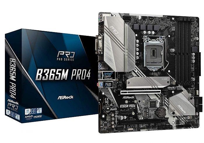 【送料無料】ASRock MicroATX B365M PRO4 マザーボード Intel B365 チップセット