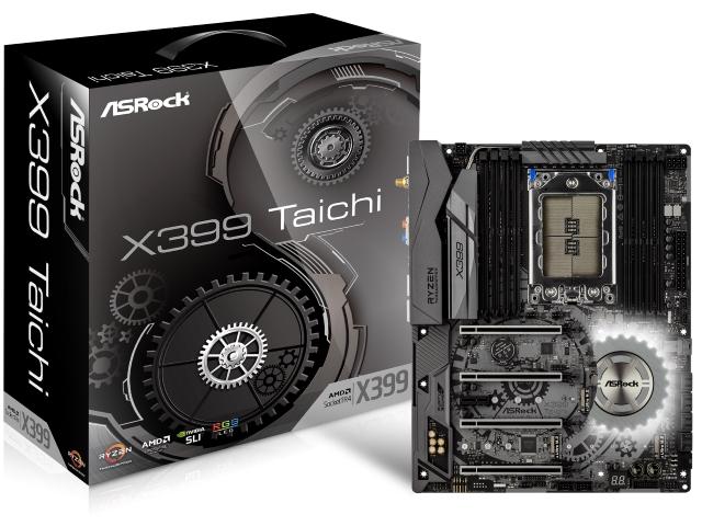 【送料無料】ASRock ATX X399 TAICHI マザーボード AMD X399 チップセット