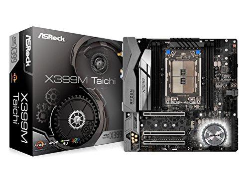 【送料無料】ASRock MicroATX X399M TAICHI マザーボード AMD X399 チップセット