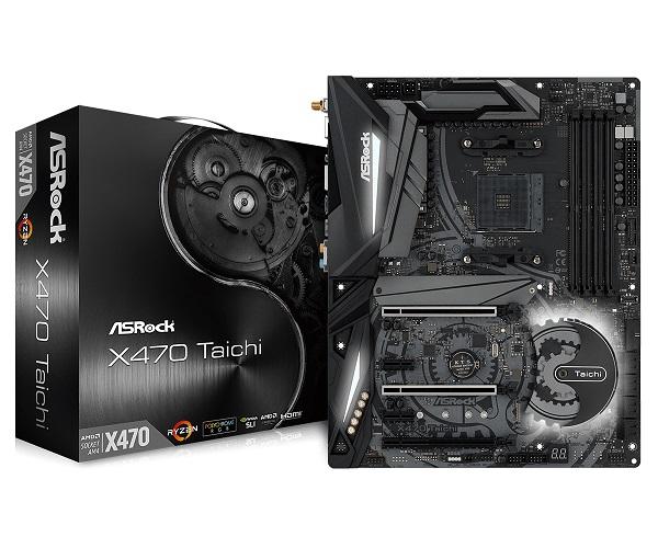 【送料無料】ASRock ATX X470 TAICHI マザーボード AMD X470 チップセット