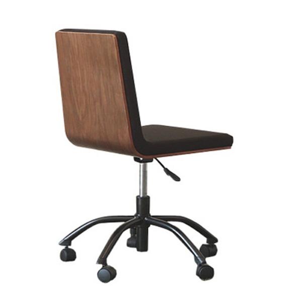 【送料無料】ウォルナット オフィスチェア レガート 機能性 椅子 チェア 北欧 カフェ風 ブラック ブラウン リビング おしゃれ 1人暮らし 人気 ブラウン デザイン 高さ調節 スツール ソファ 木目 激安 特価 新生活 ヴィンテージ調 オフィス家具 チェアー デスクチェア