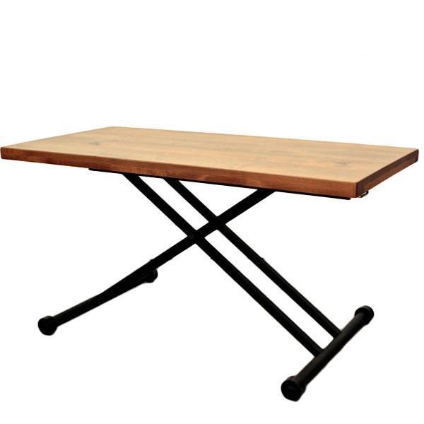【送料無料】東馬 リナ LINA リフティングテーブル おしゃれ デスク ダイニングテーブル リビングテーブル
