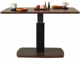 【送料無料】足下のペダルで高さ調節可能 クアトロ 昇降ダイニングテーブル QT