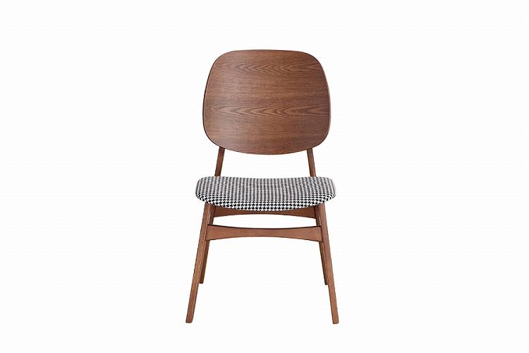 【送料無料】 バルド チェア 2脚セットブラウン チェア ダイニングチェア カフェ イス 椅子 北欧