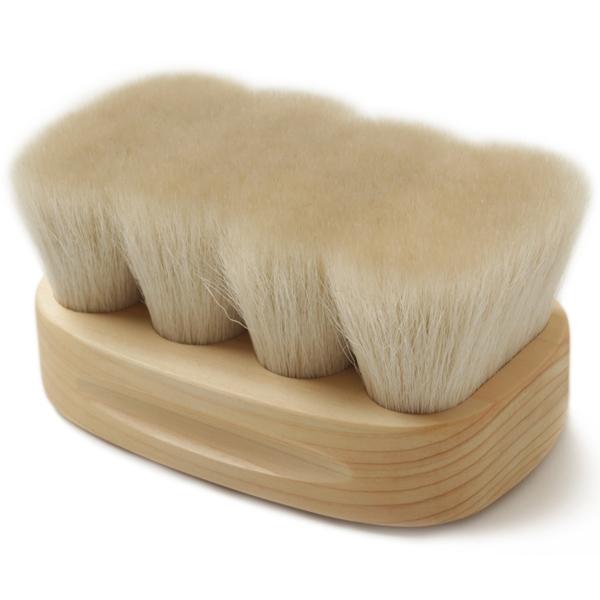 BootBlack ブートブラック 靴ブラシ 山羊毛 馬毛 鏡面仕上げ 熊野筆 フィニッシングブラシ