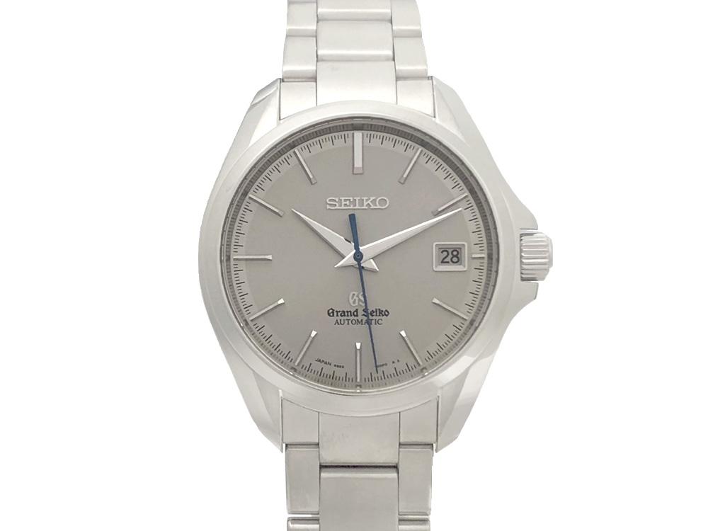 【中古】SEIKO セイコー グランドセイコー 9S65-00F0 メカニカル マスターショップ限定 SBGR069 ステンレススチール 自動巻き メンズ シルバー文字盤 腕時計