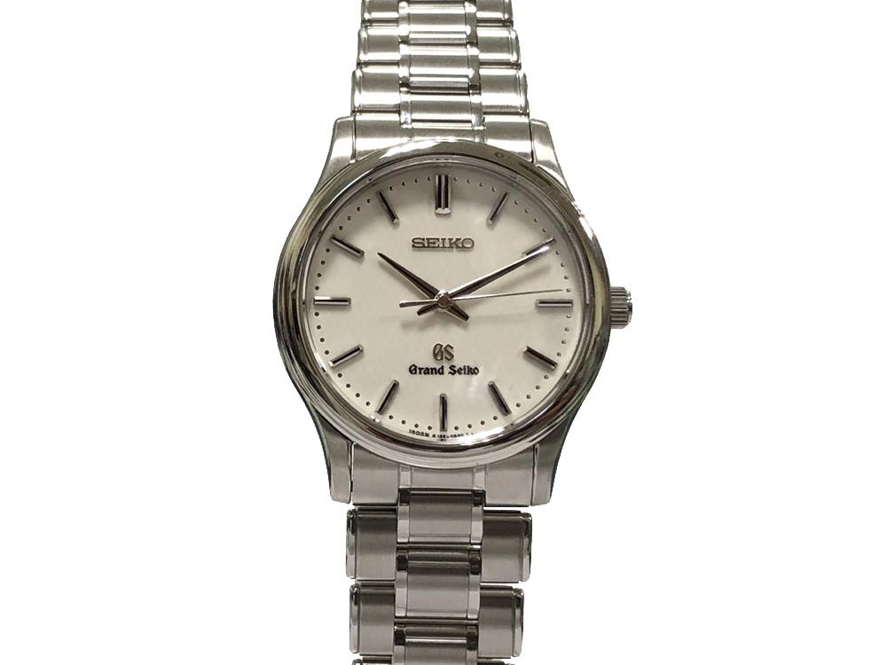 【中古】セイコー SEIKO GS グランドセイコー SBGF029 8J55-0AA0 クォーツ メンズ 腕時計 ホワイト文字盤