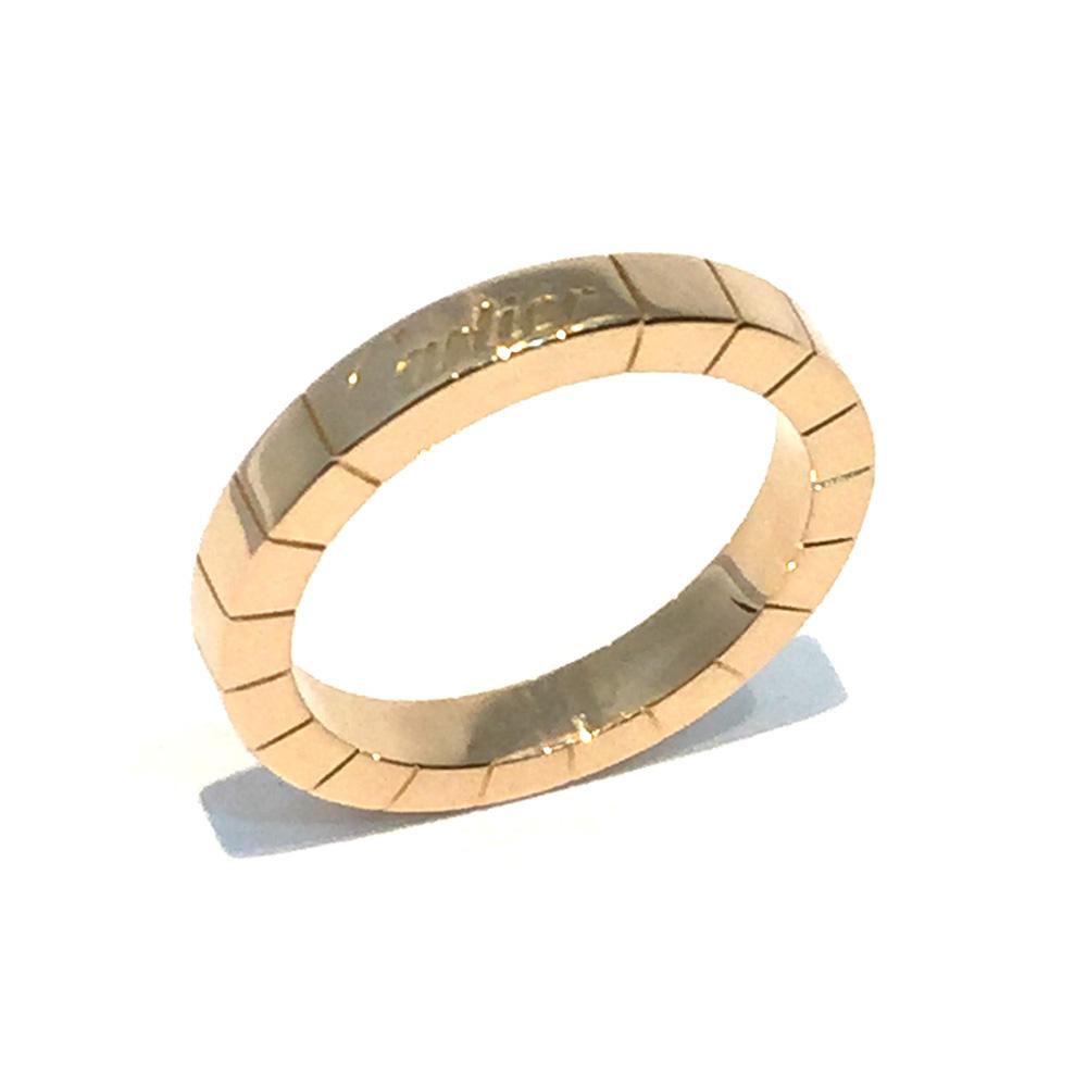 【中古】 Cartier カルティエ ラニエール K18PG リング ♯50/10号 指輪