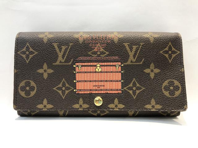 【中古】ルイ・ヴィトン LOUIS VUITTON ポルトフォイユ・サラ M60415 トランク&ロック 長財布