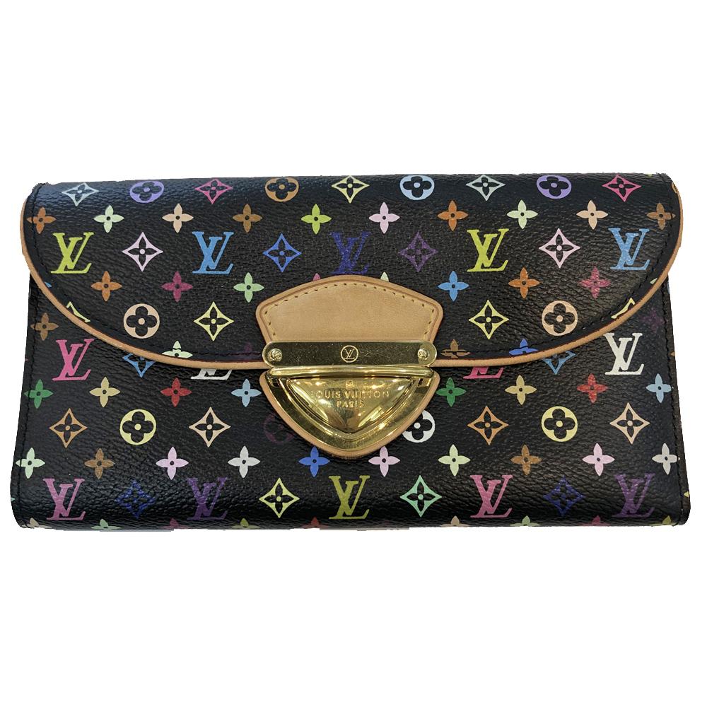 【中古】Louis Vuitton ルイ ヴィトン マルチカラー グルナード 長財布