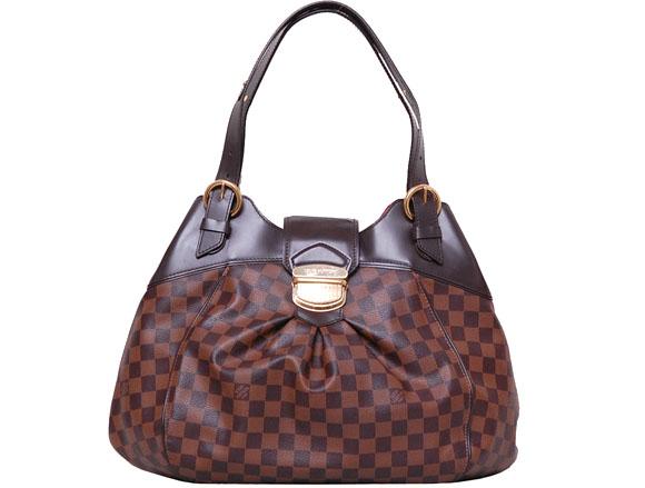 【中古】LOUISVUITTON ルイヴィトン ダミエ システィナGM N41540 レディース バッグ