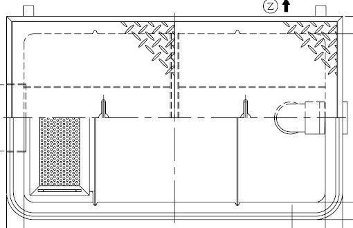 人気ブランド多数対象 《メーカー直送品 代引き不可》送料無料※北海道 沖縄 離島は送料別途 舗 ホーコス GFR-25EAU《鋼板製蓋付》FRP製 グリストラップ 超浅型グリース阻集器 鋼板製防錆塗装蓋付別枠式マンホール 25L 側溝流入式別枠式マンホールシンダー埋込型
