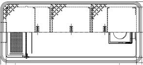 【ホーコス】[日本阻集器工業会認定品]FRP製超浅型グリース阻集器(グリストラップ)GFRA-N70JE 側溝流入式直置式マンホール 鋼板製防錆塗装蓋付シンダー埋込型