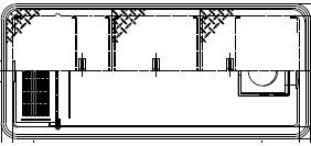 【ホーコス】GFRA-N70JP《鋼板製蓋付》[日本阻集器工業会認定品]FRP製超浅型グリース阻集器(グリストラップ)パイプ流入式直置式マンホール 鋼板製防錆塗装蓋付シンダー埋込型