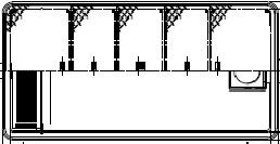 【ホーコス】[日本阻集器工業会認定品]FRP製超浅型グリース阻集器(グリストラップ)GFRA-N150JP パイプ流入式直置式マンホール 鋼板製防錆塗装蓋付シンダー埋込型