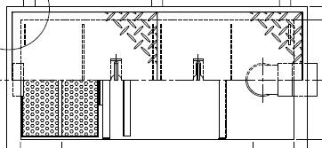 《メーカー直送品 品質検査済 代引き不可》送料無料※北海道 沖縄 離島は送料別途 ホーコス パイプ流入式シンダー埋込型鋼板製防錆塗装蓋付別枠式マンホール グリストラップ 超浅型グリース阻集器 激安通販販売 GSU-15PAU《鋼板製蓋付》ステンレス製