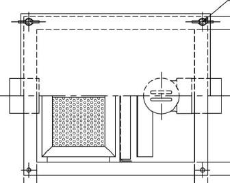 【ホーコス】GS2-7Hステンレス製 床置型グリース阻集器(グリストラップ)2槽式