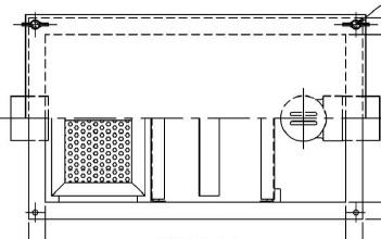【ホーコス】GS3-15Hステンレス製 床置型グリース阻集器(グリストラップ)3槽式