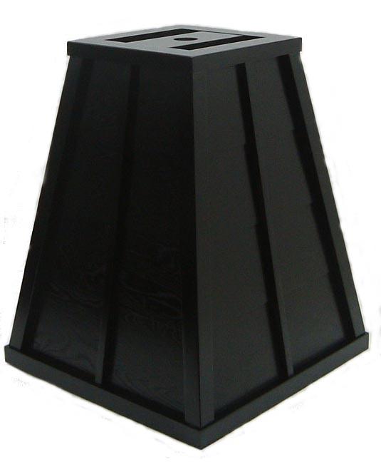 木製傘立 黒