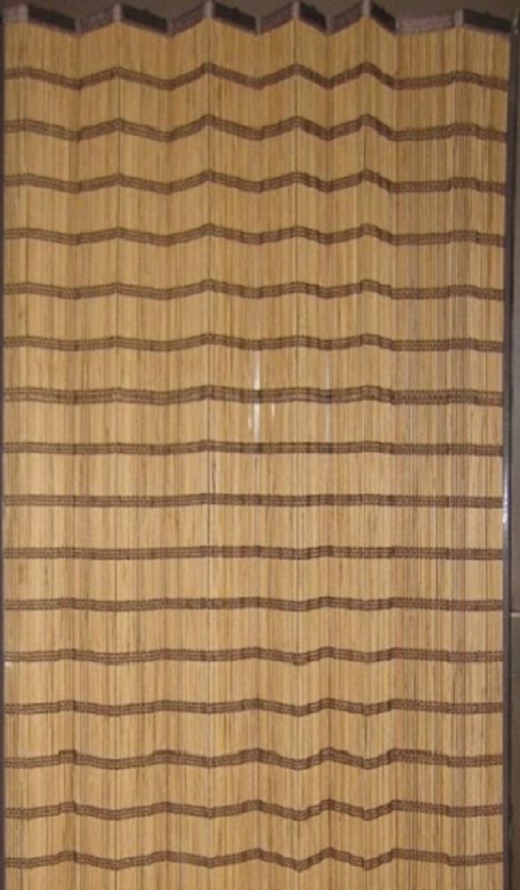 【送料無料】竹スダレカーテン2枚組腰窓(平織焼竹3) 約幅100×丈120cm(丈は付属のSフック含む)