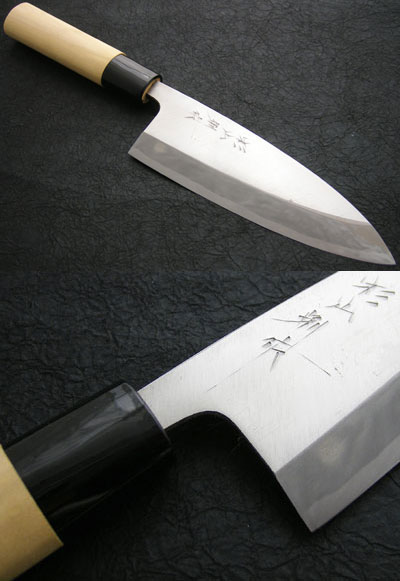 Knife Deba 150 full length 刃渡り 29 cm 15 cm single blade weighs 280 g knife Deba steel making at home, most commonly used size fs3gm02P28oct13 02P10Nov13