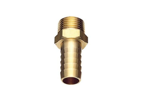 BSタケノコ 黄銅 ホース接続 灌漑 15AxΦ10.5 真鍮製ホースニップル 大規模セール アウトレットセール 特集 散水