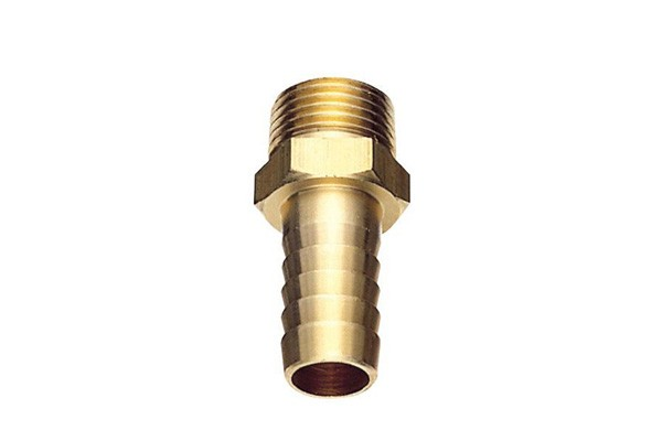 BSタケノコ 賜物 市販 黄銅 ホース接続 灌漑 15AxΦ14 散水 真鍮製ホースニップル