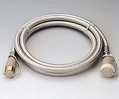 都市ガス LPガス 兼用 ガス コード 迅速ツギテ ガス栓 ガス機器 接続用 ガスコード 5m