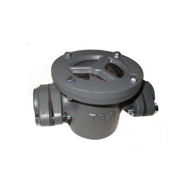 TB式 鋳物製 砂こし器 砂取器 口径40A フィルター70メッシュ 井戸ポンプ 部品