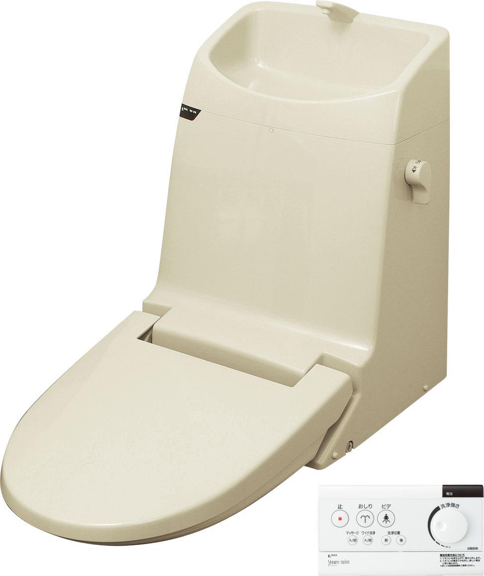 LIXIL、INAX 便座、タンク付リフレッシュシャワートイレCCタイプ(フルオート便器洗浄なし、温風乾燥なし)