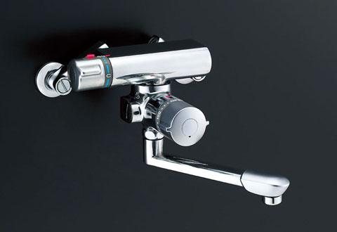 LIXIL、INAX 浴室水栓、アステシアシリーズ サーモ付バス水栓(浴槽用、定量止水機能付)