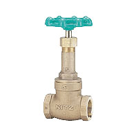 KITZ 給水用ゲートバルブ(10k-40A,1-1/2インチ)LN-40A