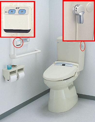 LIXIL、INAX 大便器タンク部品、流せるモン(INAX 大便器タンク部品、-W節水便器×旧タイプシャワートイレ用)