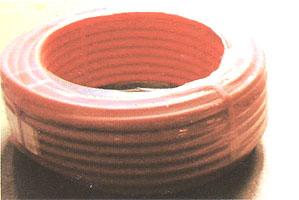 架橋ポリ管保護用サヤ管(36ミリ、ピンク)30m巻き