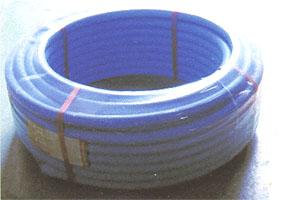 架橋ポリ管保護用サヤ管(25ミリ、ブルー)50m巻き