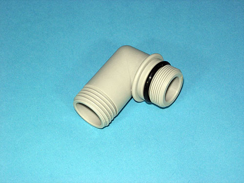 専門店 スイッチシャワーをその他シャワーに取替える際の交換パーツ ネコポス対応 LIXIL INAX 普通シャワーホース用 樹脂製シャワーエルボ 通常便なら送料無料 A-1859-1 逆止弁無し