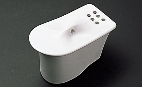 TOTO urinal putting on and taking off trap part eyes plate (U307 type use, product made in ceramics)