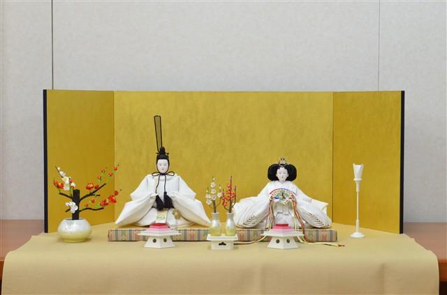 ひな人形 きよら スノーホワイト コンパクト中型 フルタイプ 親王毛せん飾りkw35kh 132021, citron glaces bb0fd930