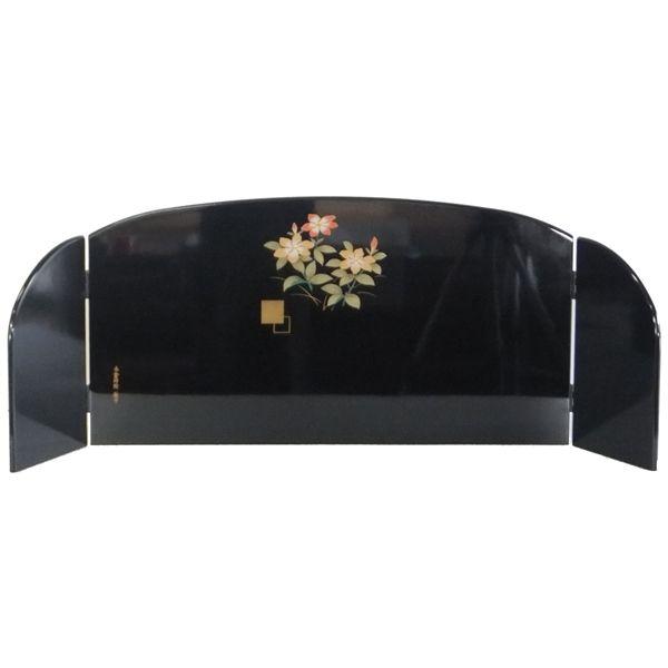 前飾道具 三品道具 ひな道具 単品 部品売り 30号三品 溜塗雪牡丹 桜 266511