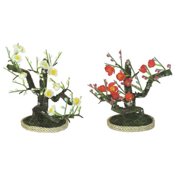 桜橘 花 単品 部品売り 13cm しずかAN双花15-01 紅白梅南庭小 130904