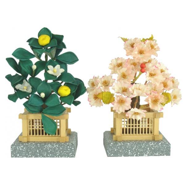 ひな人形 ひな道具 単品 部品 売り 花 桜橘 小寿 極小 140385