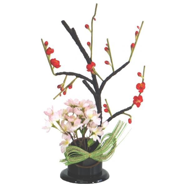 ひな人形 ひな道具 単品 部品 売り 花 桜橘 しずかEH単花36-04 さくら赤 275001