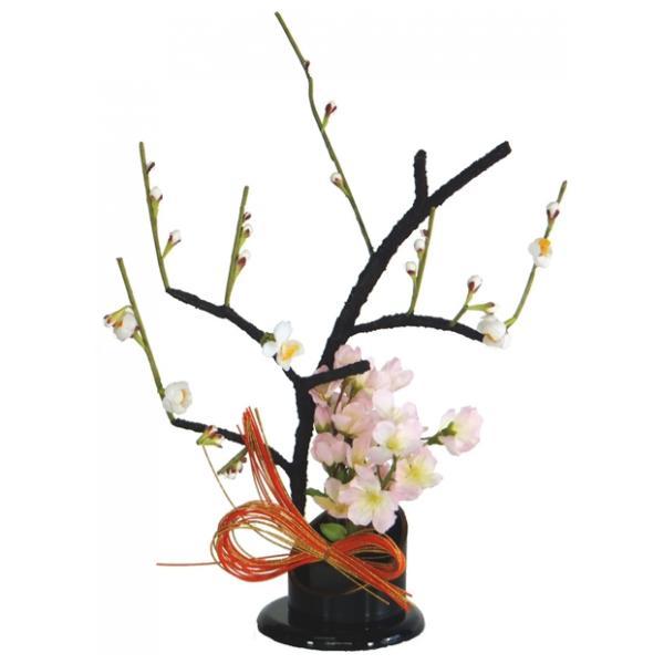 ひな人形 ひな道具 単品 部品 売り 花 桜橘 しずかEH単花36-04 さくら白 301953